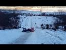 13.01.18 Катание на плюшках в Корольковом саду