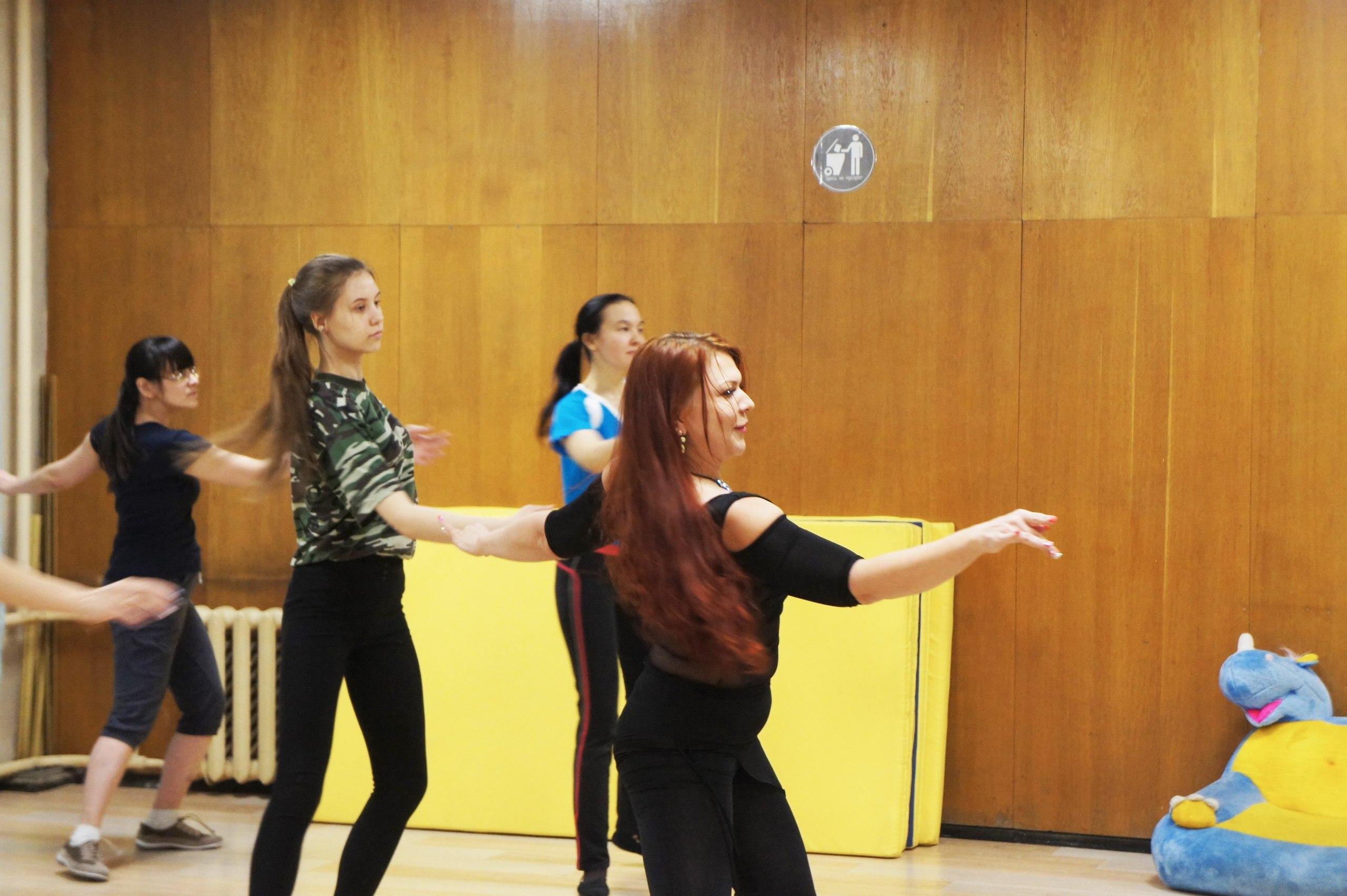 Восточные танцы в Студии движения Шаги