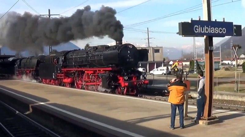 Tripla trazione a vapore sul Gottardo – Dreifachtraktion volldampf am Gotthard – part 3