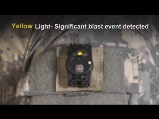 Датчик Blast Gauge для диагностики контузии