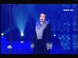 Екатерина Гусева исполняет арию «Метель» на праздничном концерте (телеканал НТВ)