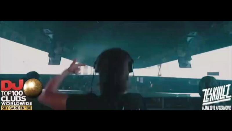 Zeskullz live show Skygarden Bali