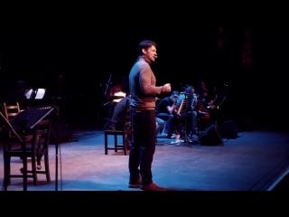 Спектакль Онегин - гастроли в Санкт-Петербурге. Небольшое видео с репетиции.