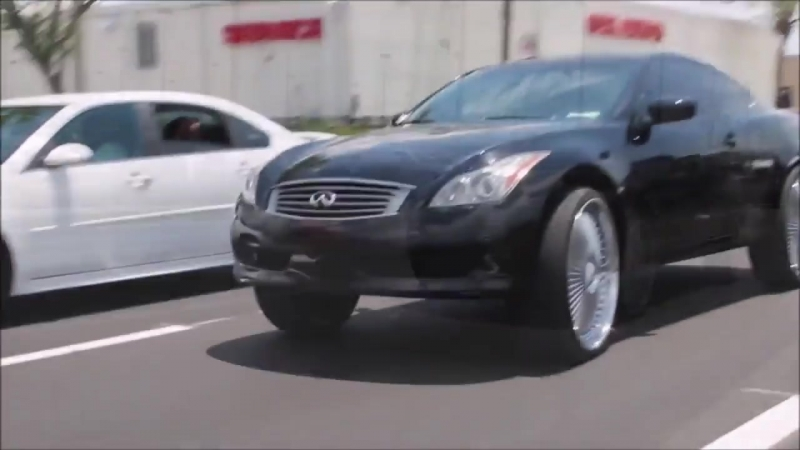 DUB Wheels. Supercharged Audi S5 On 28s DUBS Infiniti Coupe On 26s DUBS