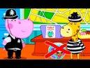 Гиппо Детектив Детский Полицейский Участок Лучшие Мультики с Бегемотиком Гиппи ГАМИКС