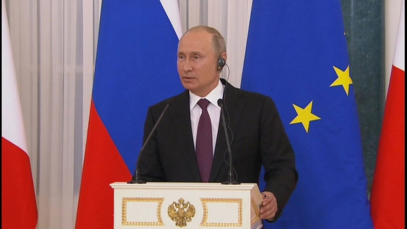 В чем разница между Сенцовым и Вышинским ответ Путина журналисту из Франции
