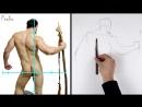Proko Figure drawing fundamentals - 11 Measuring - drawing-yoni-linear-layin-basic-shapes-premium-720p