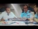 BFM TV transmisson bis MACRON dans avion du 12 09 2017 îles touchées cyclone IRMA