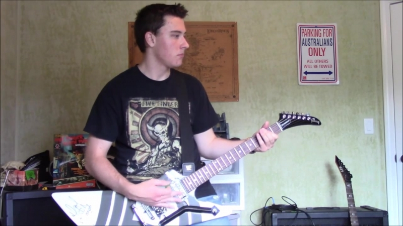 Five Finger Death Punch - The Pride (Guitar Cover)