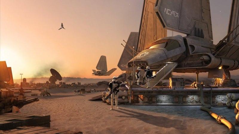 STAR WARS «Космический корабль»