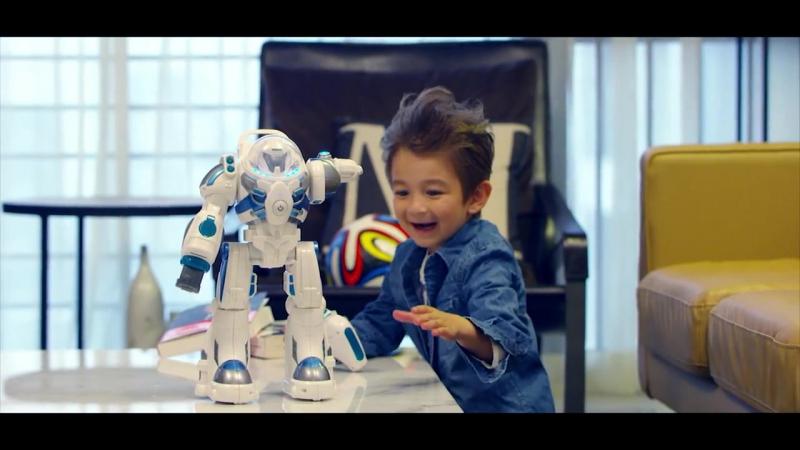 Радиоуправляемые роботы Rastar RS-Robot Spaceman