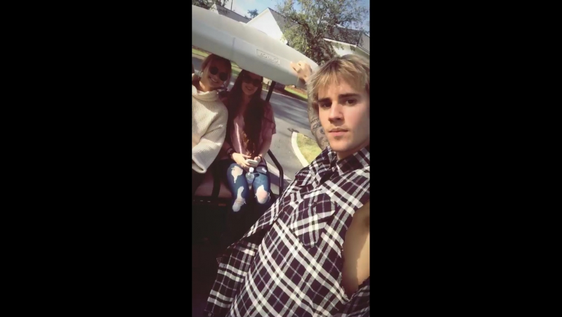Justin with Beadles family