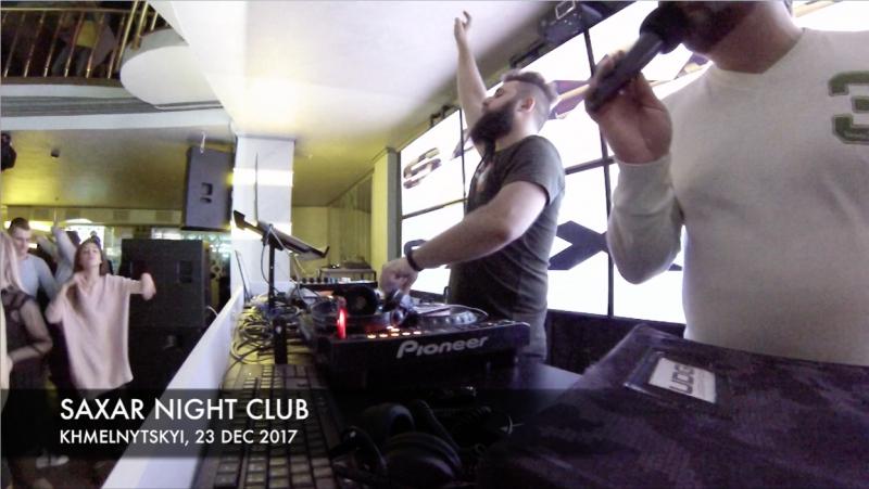 Shnaps - Live @ Saxar Night Club, Хмельницкий 23.12.2017