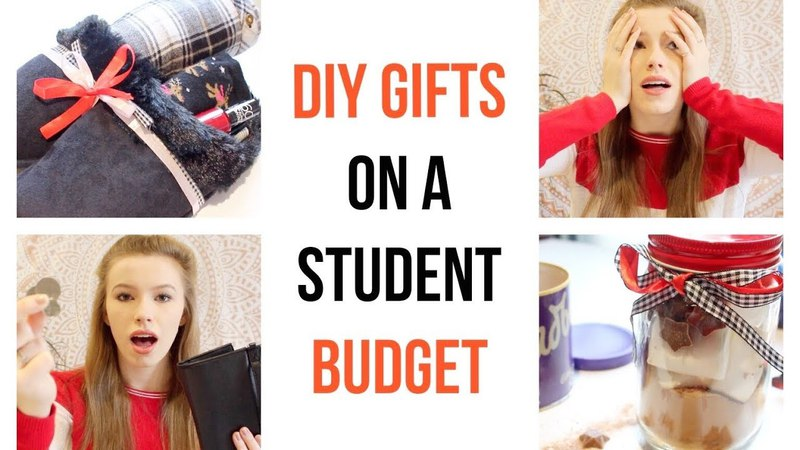 DIY Gifts On A Student Budget | HollieDollie
