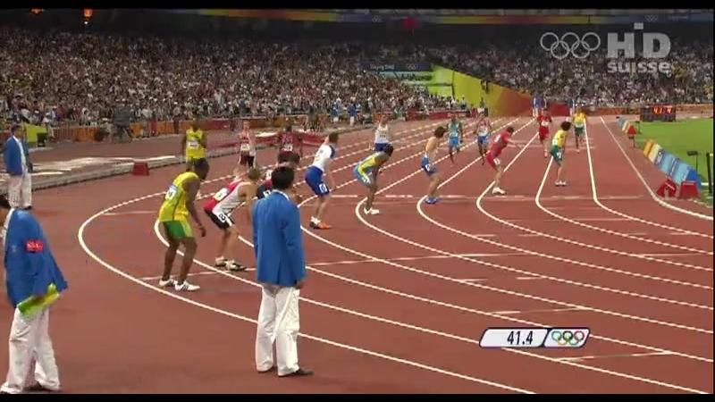 Олимпийские игры / Пекин 2008. Эстафета 4 X 400 м.