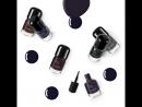Лак для ногтей, оттенки черного - Shades Of Black Nail Lacquer