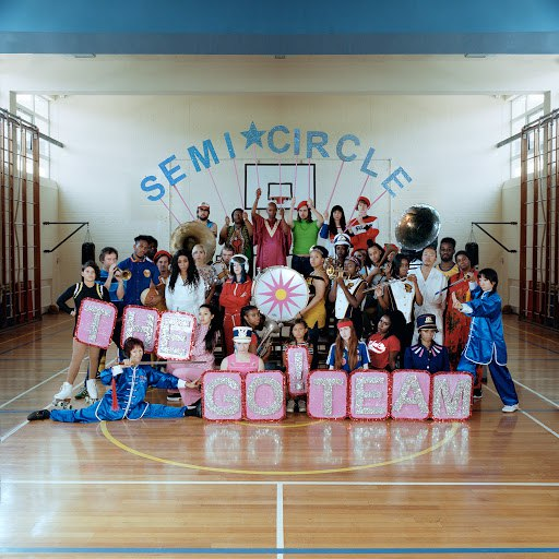 The Go! Team альбом SEMICIRCLE