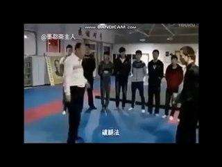 真实的太极拳实战技击是这样子的