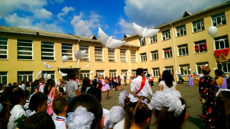 голуби в небо. выпускники 2018