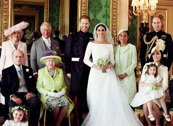 Свадьба принца Гарри и Меган Маркл: официальные портреты