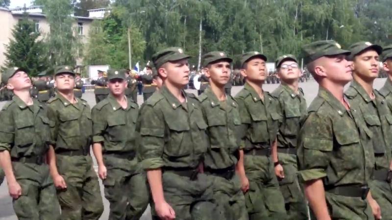 Присяга в/ч 74400 Переславль Залесский 01.08.2015