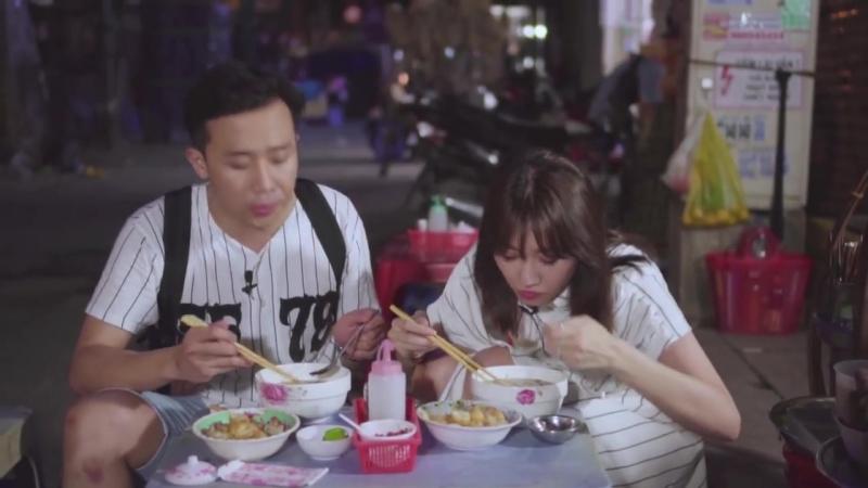 Hari Won - Siêu Ham Ăn _ Ăn Khuya Cùng Xìn Ri Tại Bánh Canh Dì Hương~1