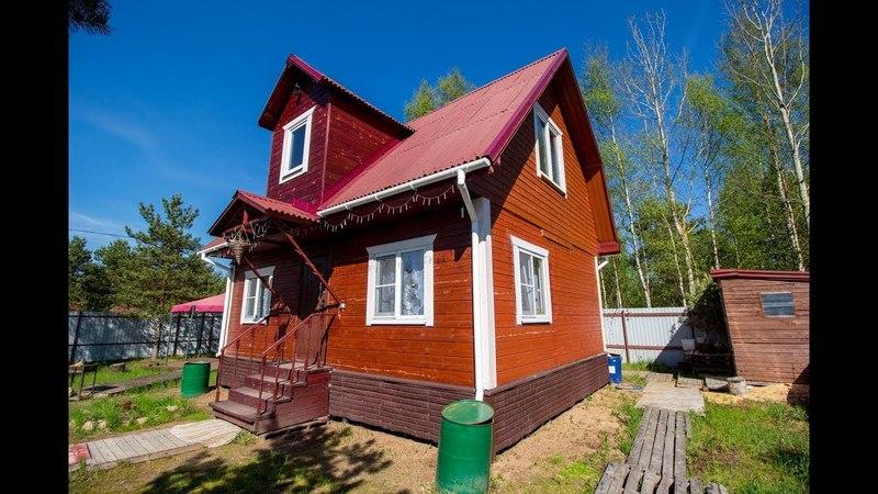 Дом из бруса, СНТ Новоропшинское, Ропшинское ш., КАД7 км.
