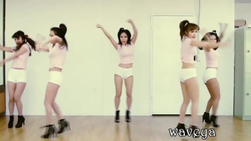 Танец кореянок под ВЕТЕРОК