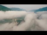 Вся Черногория Будва Котор с высоты полета
