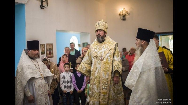 Слово митрополита Савватия в четверг 7-ой седмице по Пасхе в пос. Заиграево