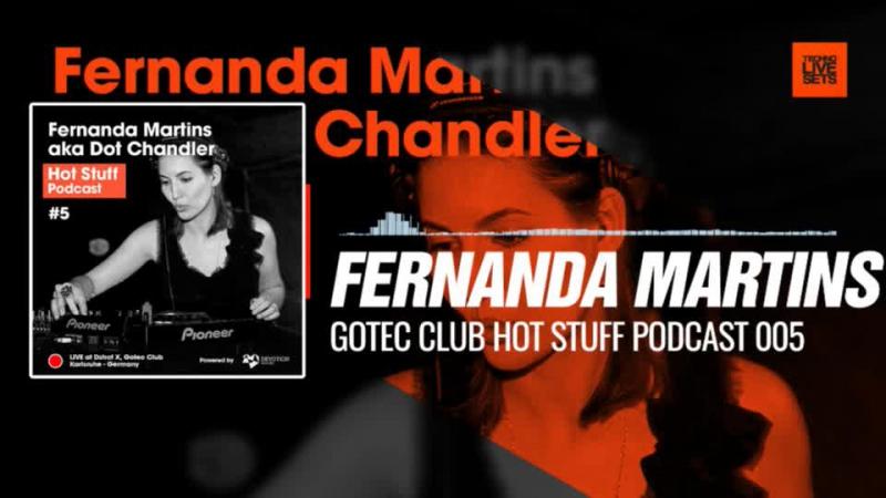 @DjFerMartins aka Dot Chandler - Gotec Club Hot Stuff Podcast 005 (Karlsruhe, Germany) 28-10-2017 Music Periscope Techno