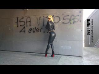 DANA LABO boots my passion - leggings jacket leather walk