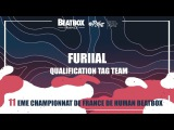FURIIAL - Qualification Tag Team - 2017 French Beatbox Championships