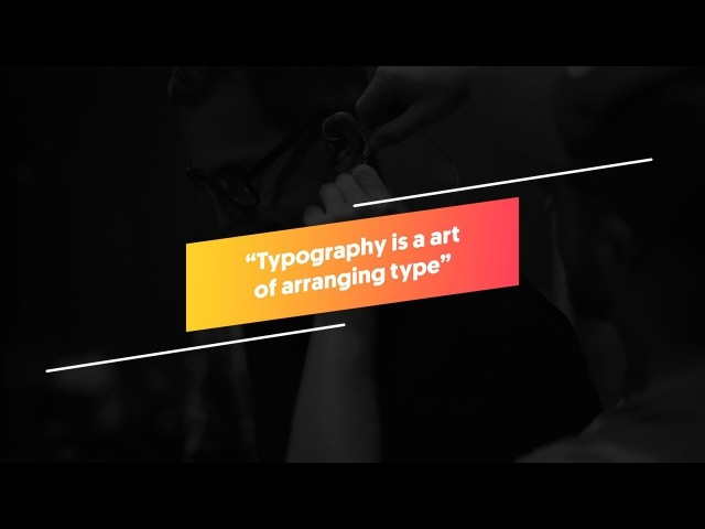 Typography Text Animation in After Effects - After Effects Tutorial - No Third Party Plugin