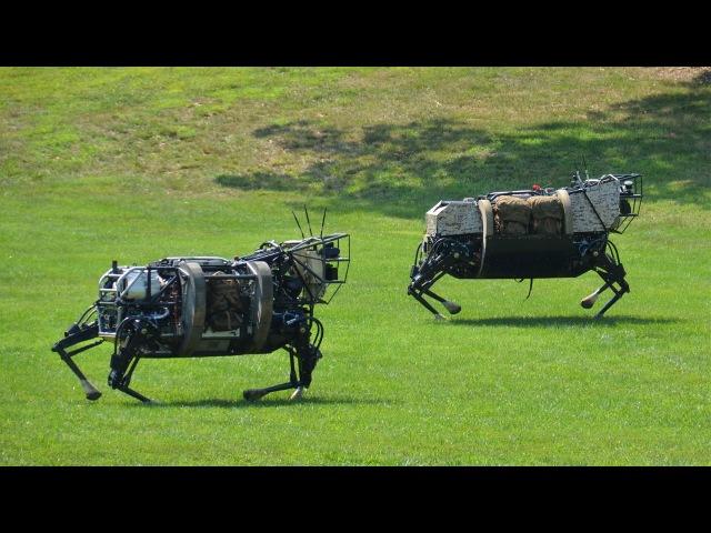 Робот Boston Dynamics спасатель! Озвучка! (много мата)