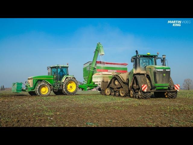 Regenerative fertilization | JOHN DEERE 9620 RX with the AMAZONE ZA-TS 4200 [SOUND!]