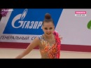 Arina Averina ribbon AA 2018 Moscow Grand Prix