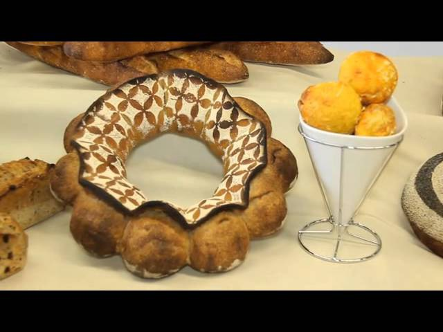 Bakery Viennoiserie at ENSP by Sébastien Chevallier, Bakery MOF 2011