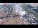 Drone Footage Turkish Tank Vs YPG / HD 720 Afrin Syrla