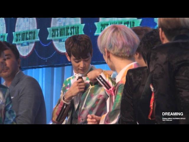 130718 mnet 20s choice 민호의 신개념 행거치프 (feat. 온유KEY)