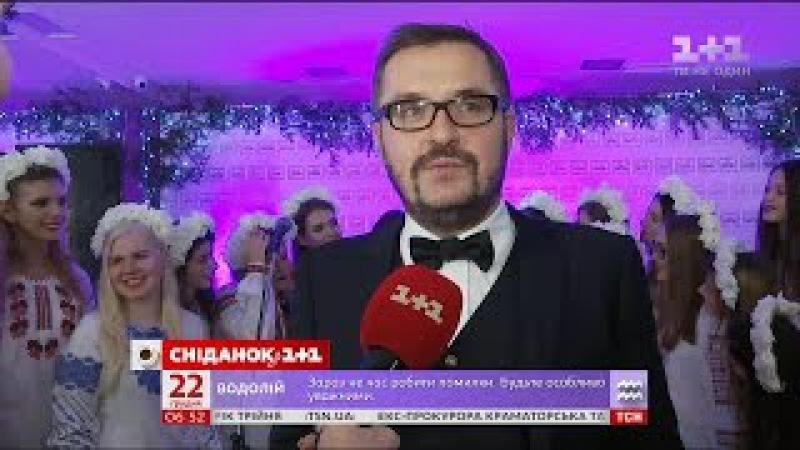 Олександр Пономарьов представив глядачам свою колядку - Христос народився