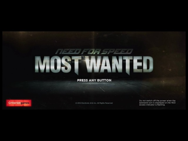 Need For Speed Most Wanted (April 2012 Build) Alpha Gameplay