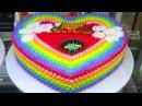 КАК УКРАСИТЬ ТОРТЫ видеоурок 125 Amazing Cakes Decorating Techniques 2017 😘 Most Satisfying Cake Style Video CakeDecorating 68