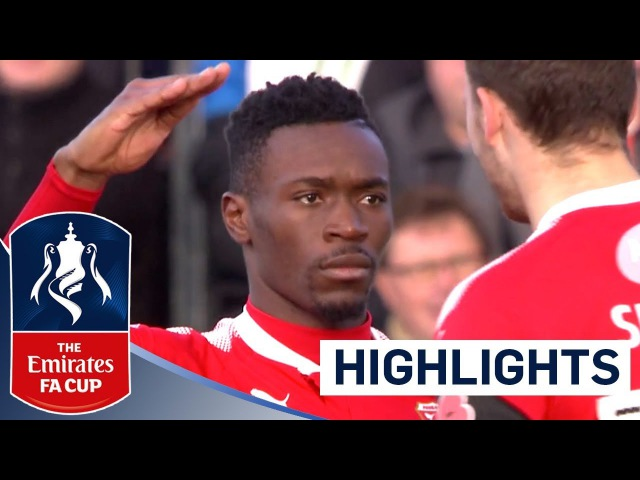 Linganzi Scores a Belter! | Dartford FC 1 - 5 Swindon Town FC | The Emirates FA Cup 201718