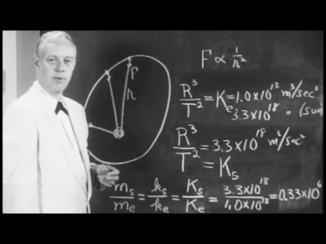 Laws of Gravity: Universal Gravitation 1960 PSSC; Patterson Hume, Donald Ivey, U of Toronto