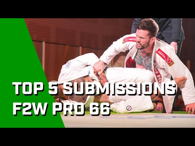 5 Crazy Submissions From Fight to Win Pro 66!