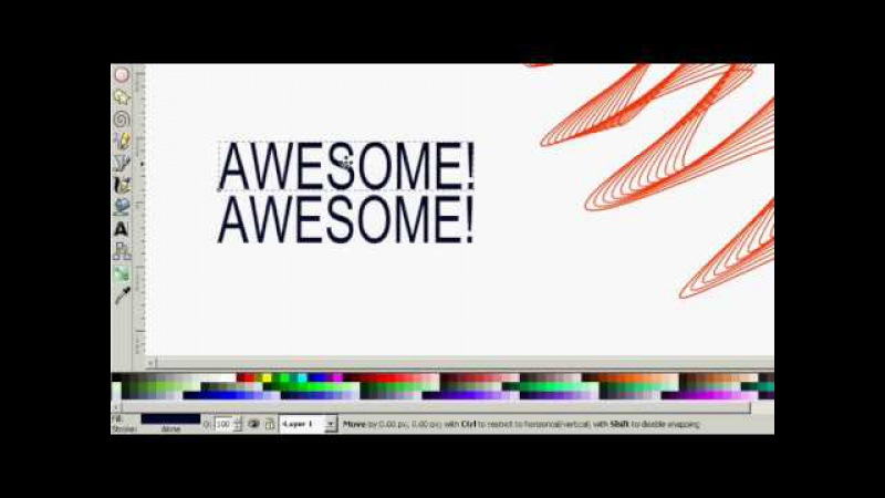 Inkscape: AWESOME LINES AND INTERPOLATION Tutorial 20