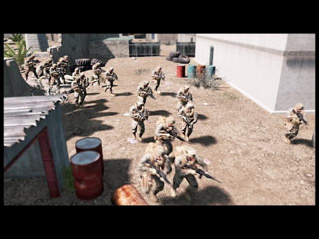 HUGE RIVER CROSSING ASSAULT! Massive Cover Advance Maneuver - Squad Ops Gameplay