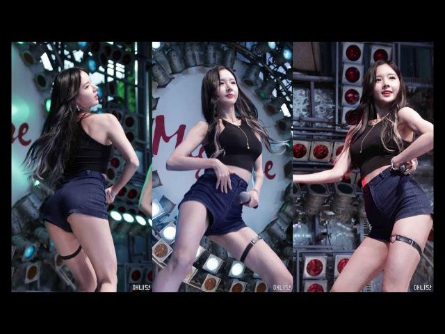 171022 포켓걸스 (Pocket Girls) 하빈 직캠 - 빵빵 (신발 프로젝트) By 애니닷