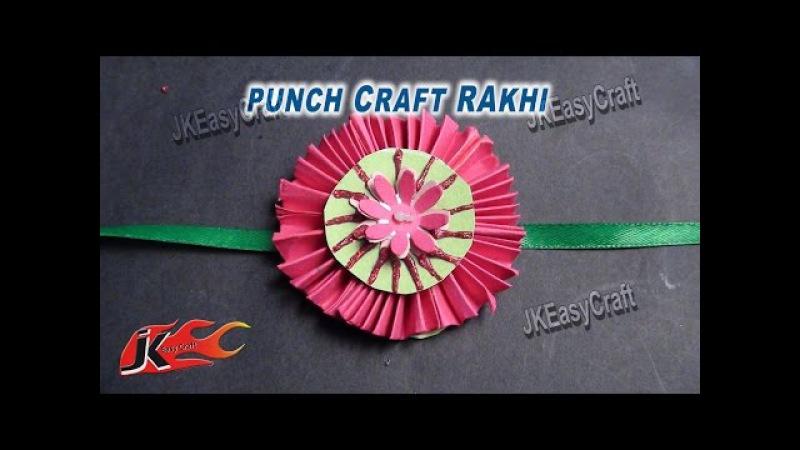 DIY Easy Paper Rakhi for Raksha Bandhan   How to make   JK Easy Craft for kids 030